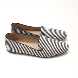J. Crew striped loafers